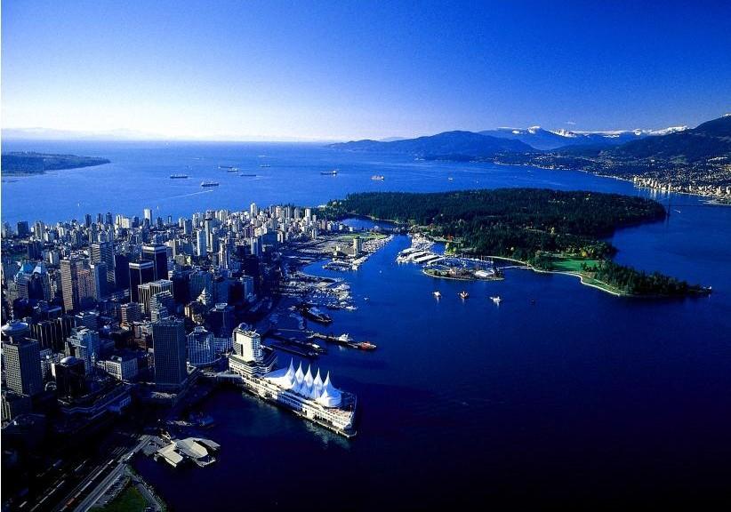 Vancouver Harbour - Stanley Park
